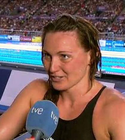 Melani Costa (imágenes emitidas por RTVE)