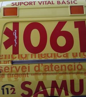 samu 061 ambulancia