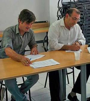 Israel Molina y Alfonso Rodriguez