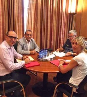 Reunion Alcalde-Delegada del Gobierno