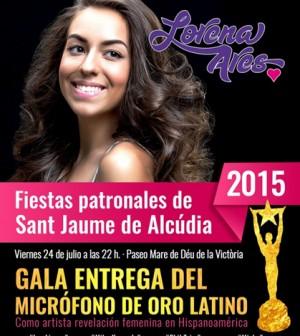 Lorena Ares microfono