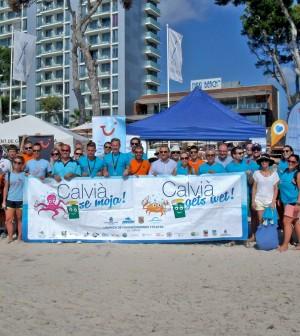 calvia limpieza playas