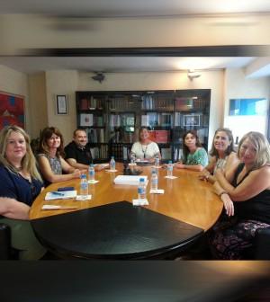 La consellera de Salut, Patricia Gómez, se reúne con sindicatos sanitarios