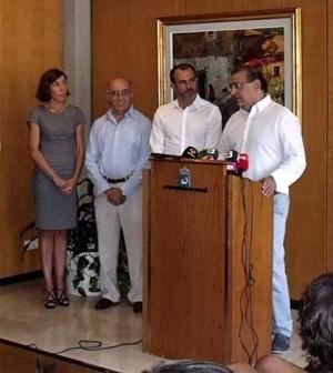 Alfonso Rodriguez con Biel Barceló