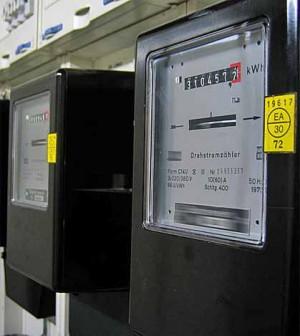 Contadores eléctricos antiguos
