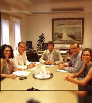 Reunion alcalde con Conseller Trabajo