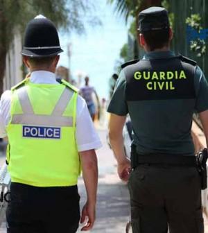 Guardia Civil y Bobies