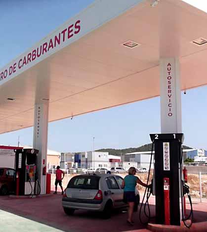 gasolinera low cost