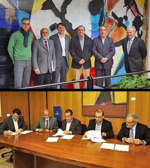 Firma de acuerdo hoteleros de Calvià
