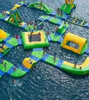 Parques flotantes