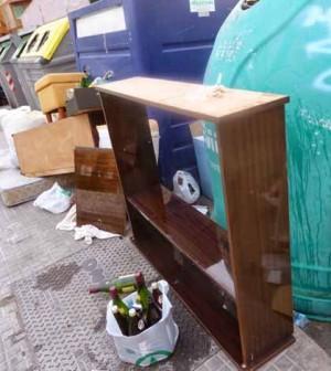 Residuos en la calle