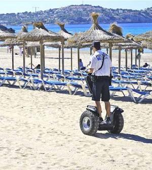 Policia local playas