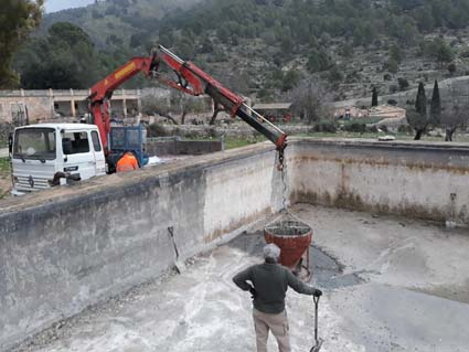 Obras alberca y aljibe Finca Galatzó 29-12-2017 (1)