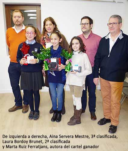 Ganadora Cartel Rua 2018