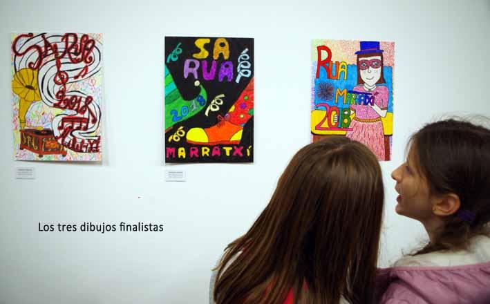 carteles finalistas Sa Rua 2018