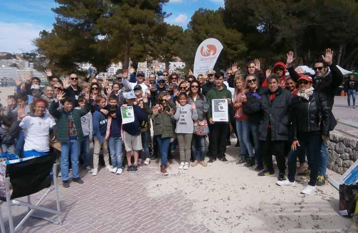 Limpieza platja Santa Ponça 2018 (1)