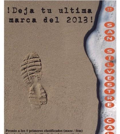 Cartel de la II Sant Silvestre de Calvià