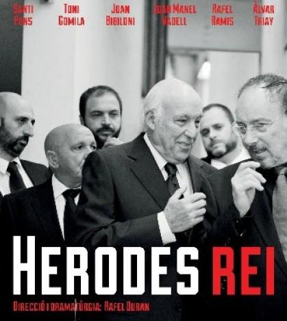 El cartel de 'Herodes, rei' producida por Produccions de Ferro