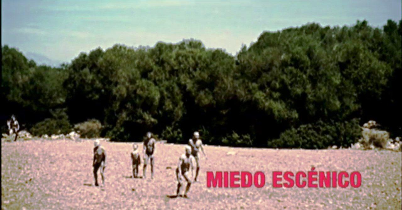 Fotograma del corto 'Miedo escénico' de Markus Khune