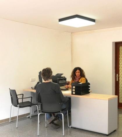 La nueva oficina de Cas Català permanecerá abierta entre las 9 y las 14 horas.
