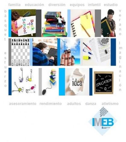 Portada de la guía de recursos para familias del IMEB