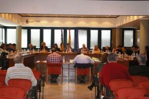 Todos los ediles del Ayuntamiento de Calvià han votado a favor de la moción