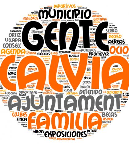 Las palabras más usadas en este digital durante el año 2013.