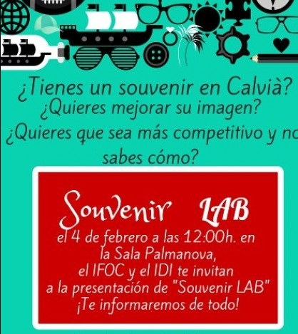 Souvenir LAB es un proyecto del IFOC y del IDI