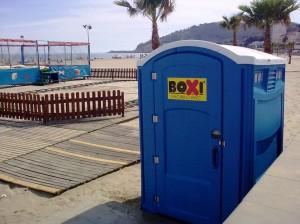 Los sanitarios de Boxi Mòbil WC