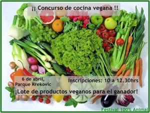El ganador del concurso de cocina vegana se hará con una cesta de productos valorada en más de 70 euros