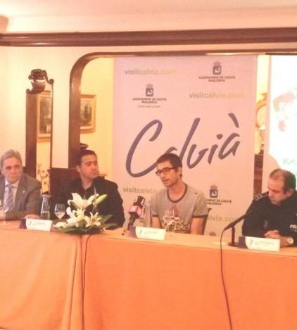 Un momento de la presentación de la K42 Mallorca