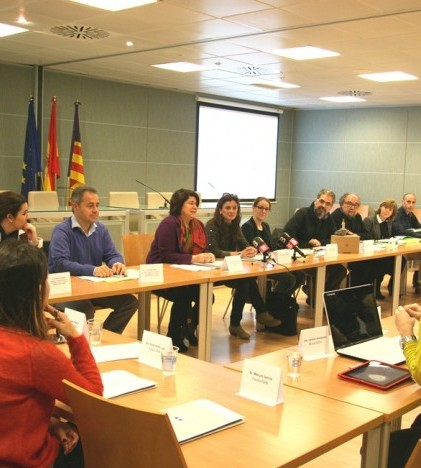 Un momento de la reunión de Souvenir Lab