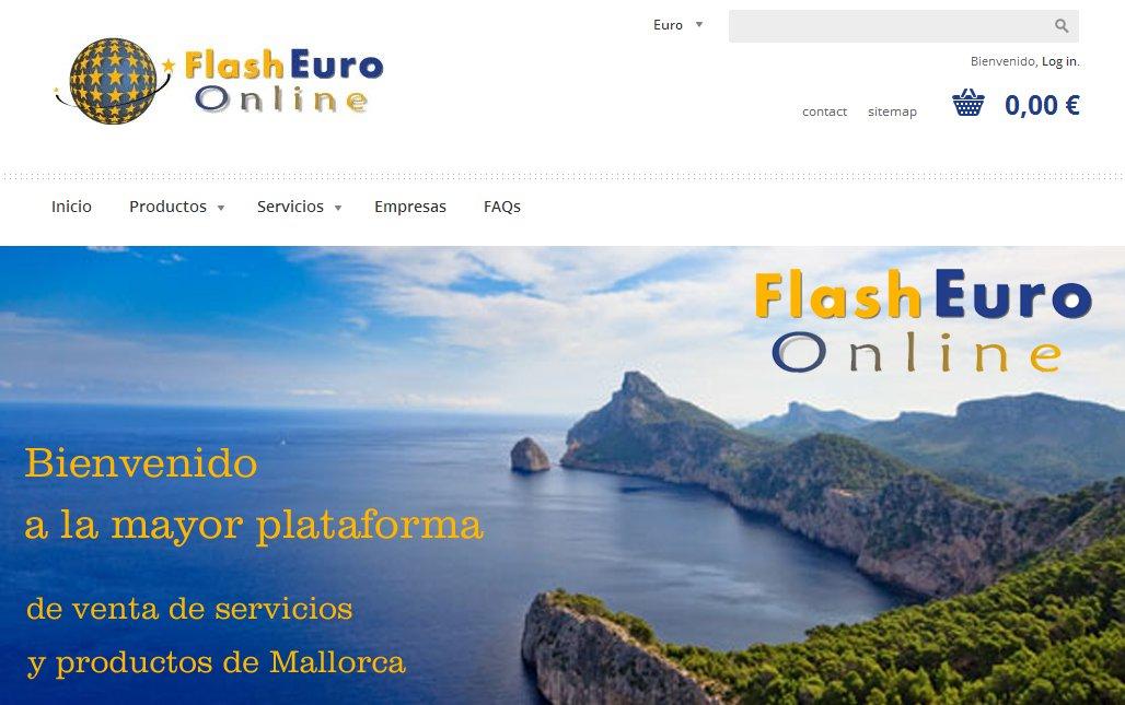 Web de Flash Euro Online