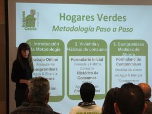 El programa de 'Hogares Verdes' incluye varias sesiones formativas para los participantes
