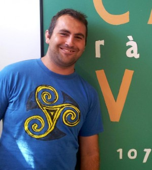 Sebas Rotger, locutor de Ràdio Calvià