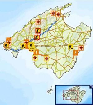 Mapa Carreteras De Mallorca.Carreteresmallorca Cat Nuevo Dominio Para Visualizar Las Incidencias En Las Carreteras De Mallorca Diario De Calvia
