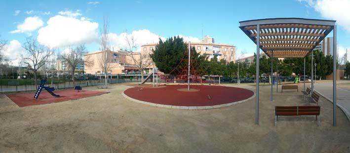Fin obras Parque Infantil Lope de Vega-Magaluf 2