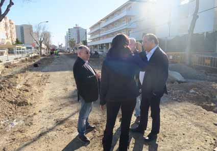 Obres carrer Galió Magaluf gener 2018 (28)