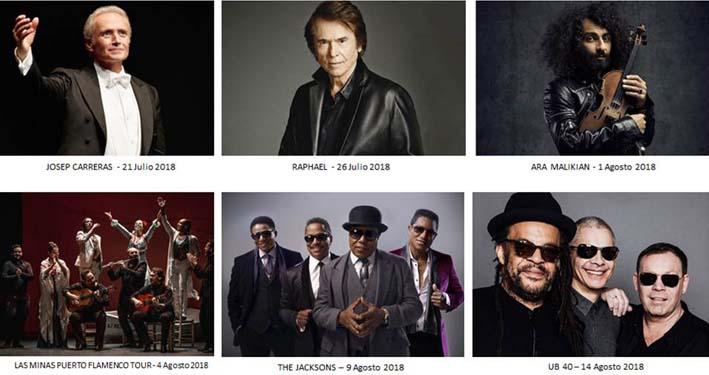 conciertos 2018