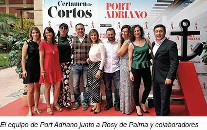 El-equipo-de-Port-Adriano-junto-a-Rossy-de-Palma-y-los-colaboradores